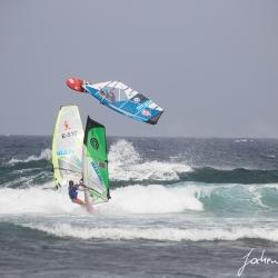 Surfweltmeisterschaft am Strand von